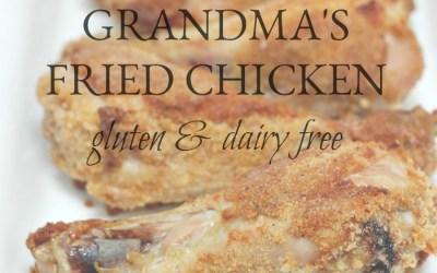 Better Than Grandma's Fried Chicken (gluten and dairy free)