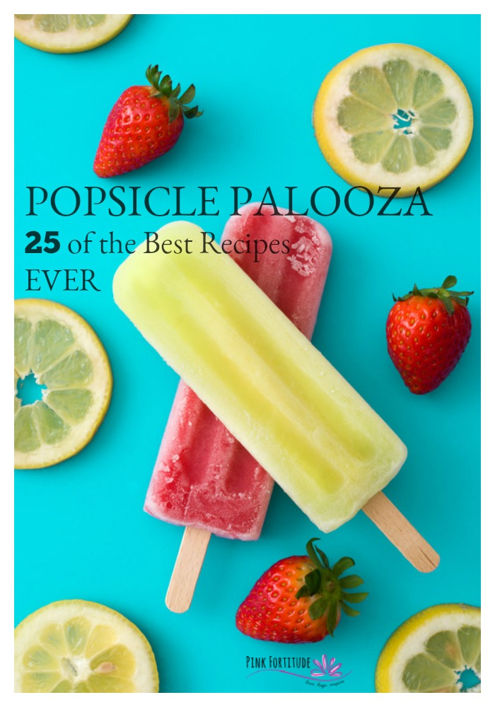 Who here loves popsicles in the summer? Who here gets a little bored with the same homemade popsicles? I've curated 25 of the most creative and healthy popsicle recipes. EVER. No boredom here. Time to chill out and enjoy!