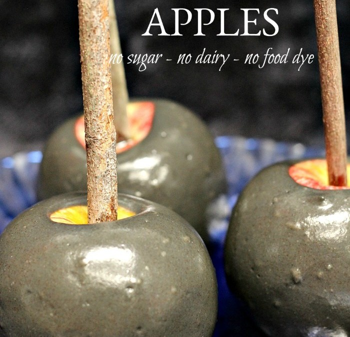 Poison Apples – No Sugar, No Dairy, No Food Dye
