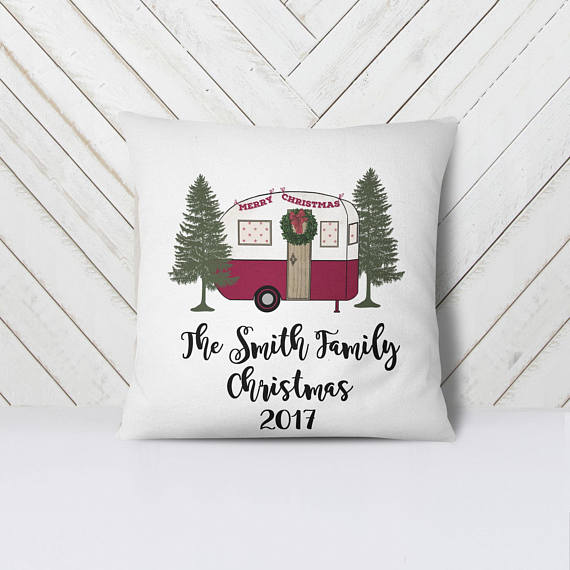 Customized Christmas Camper