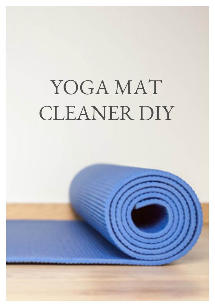 When you think Yoga, do you think about nimble bodies stretching in unison in the quest for zen? Or do you think about all of the germs on your yoga mat? Sorry my friends, those germs are there. But don't fret... this easy yoga mat cleaner DIY will help to keep your mat fresh and clean!