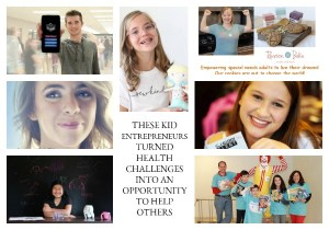 These Kid Entrepreneurs Turned Health Challenges into an Opportunity to Help Others