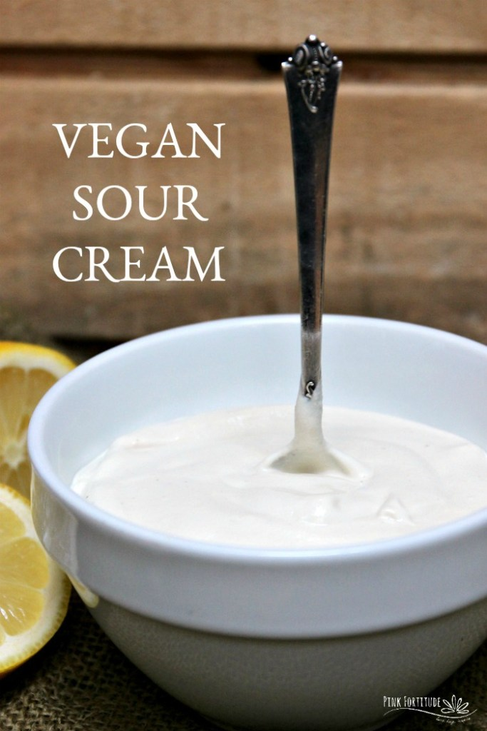 Sour cream is one of those foods that makes a recipe go from delicious to perfection. But what if you are dairy free? This vegan sour cream fills the void. It's creamy and tart and just as good as the traditional version.