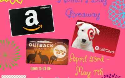 Let's Spoil Mom Mother's Day Giveaway!