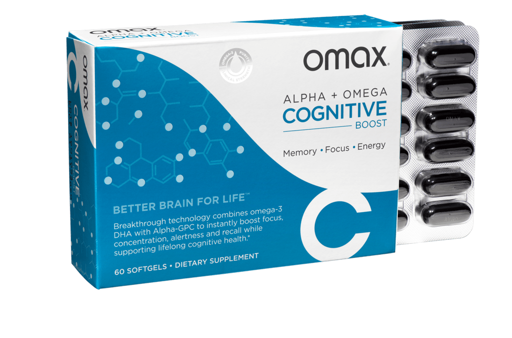 Omax Health Cognitive Boost Giveaway