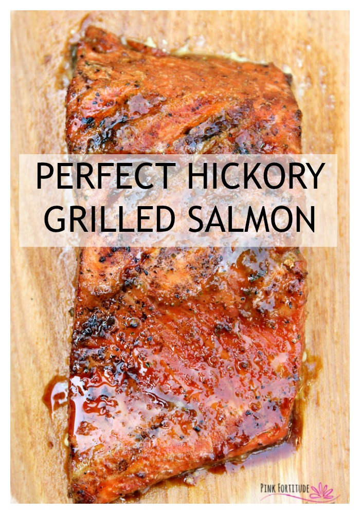 Salmon makes me happy. It's one of my favorite dinners. But there's good salmon and then there's great salmon. You know that perfect hickory grilled salmon that you get in an upscale restaurant? There's a secret to getting that flavor. This is it.