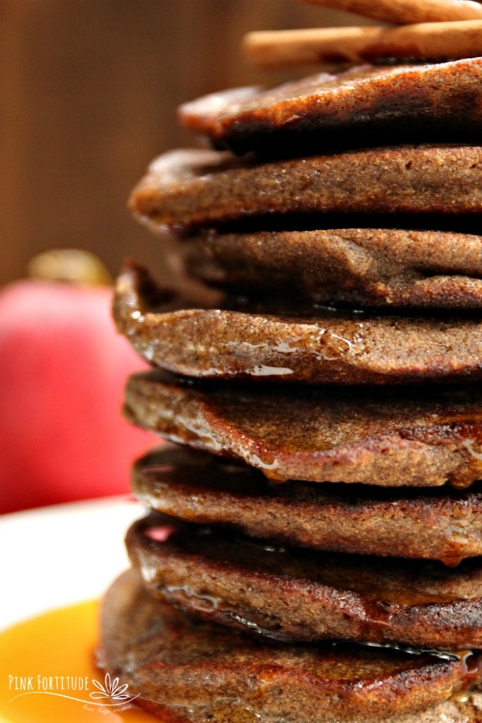 What's better than apple pie? How about apple pie pancakes? These pancakes are made with buckwheat, which is actually gluten free. They are also vegan. Can you think of anything better than eating a stack of these on a crisp, autumn morning? They're also perfect to serve your holiday guests for breakfast or brunch. Get the recipe...