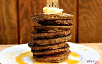 Buckwheat Pumpkin Pancakes – Gluten Free and Vegan