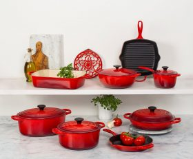 Le Creuset Stoneware and Cast Iron