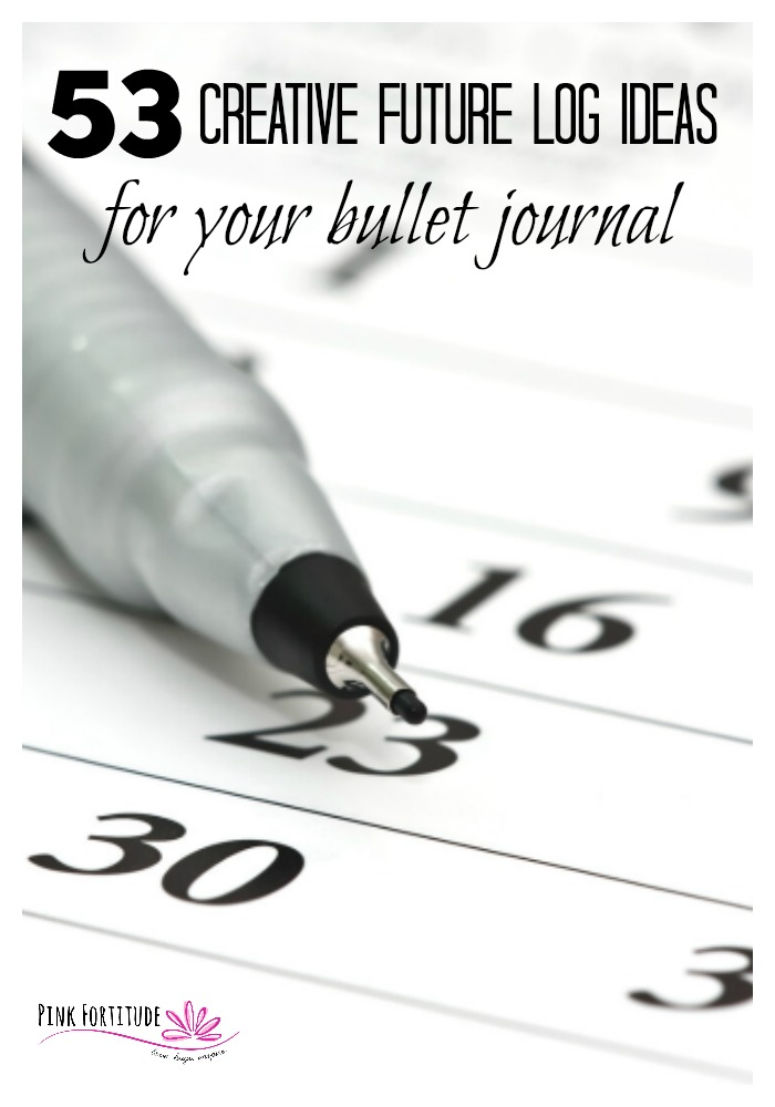 It's that time of year! You have your new Bullet Journal and you are ready to create your future log. Not to fret, my friend, here are 53 creative future log ideas that you can use on your Bullet Journal. Let's get ready to plan and be productive!