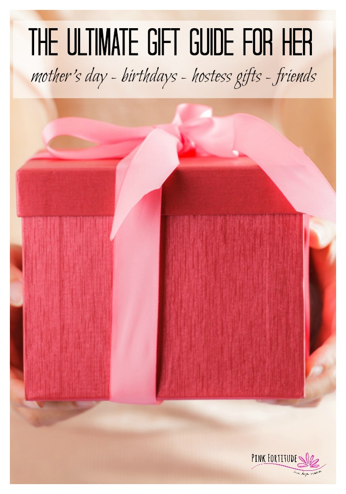 Whether it's Mother's Day, birthday or another special occasion... for Mom, Grandma, Sister, Aunt, Friend, Teacher... if you are like me, you are always looking for beautiful, thoughtful, and functional gifts. This gift guide for her has the best gifts to give and for everyone's budget, style, and interests. Trust me. They will thank you.