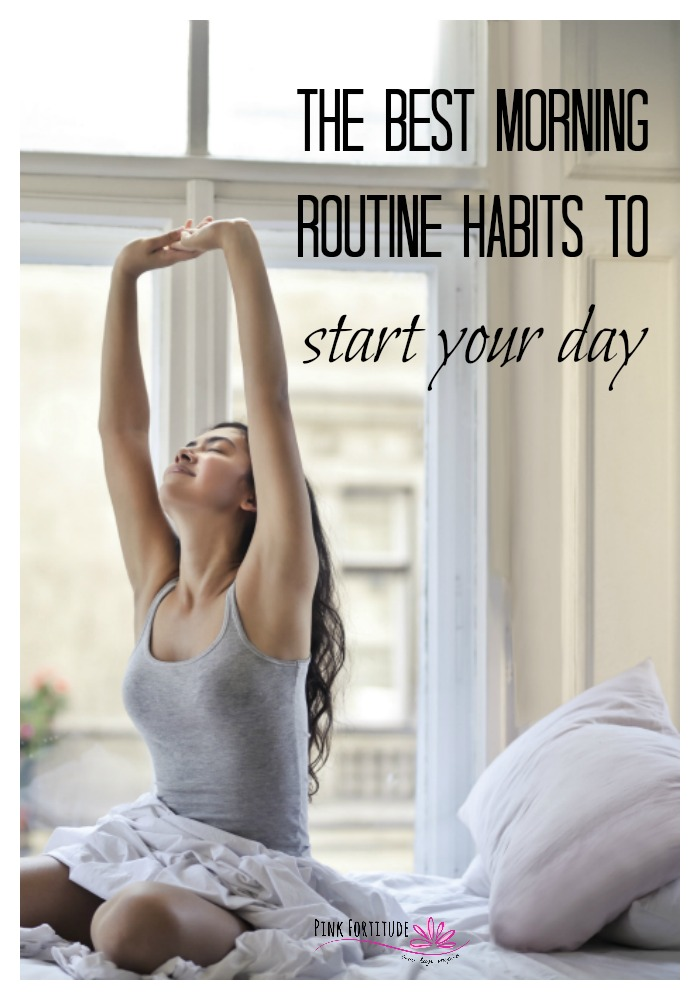 Are your mornings chaotic at best? Do you feel like you are rushing, have zero time, and forget half of what you need to do? Did you know that there are morning routine habits you can implement to help you regain control of your day and tackle anything that life hands you? Read on and get ready to rock your morning like a #girlboss.