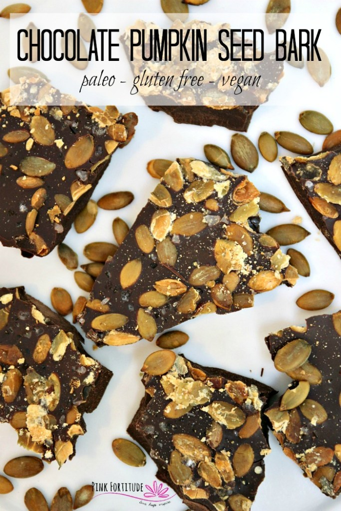This time of year, it's pumpkin spice everything, but let's not forget the seeds. And pumpkin seeds together with chocolate - be still my beating heart! This Chocolate Pumpkin Seed Bark is made with just 3 ingredients and it's Paleo, gluten-free, and vegan. It's the perfect snack for those crisp autumn days or any day of the year! Get the recipe...