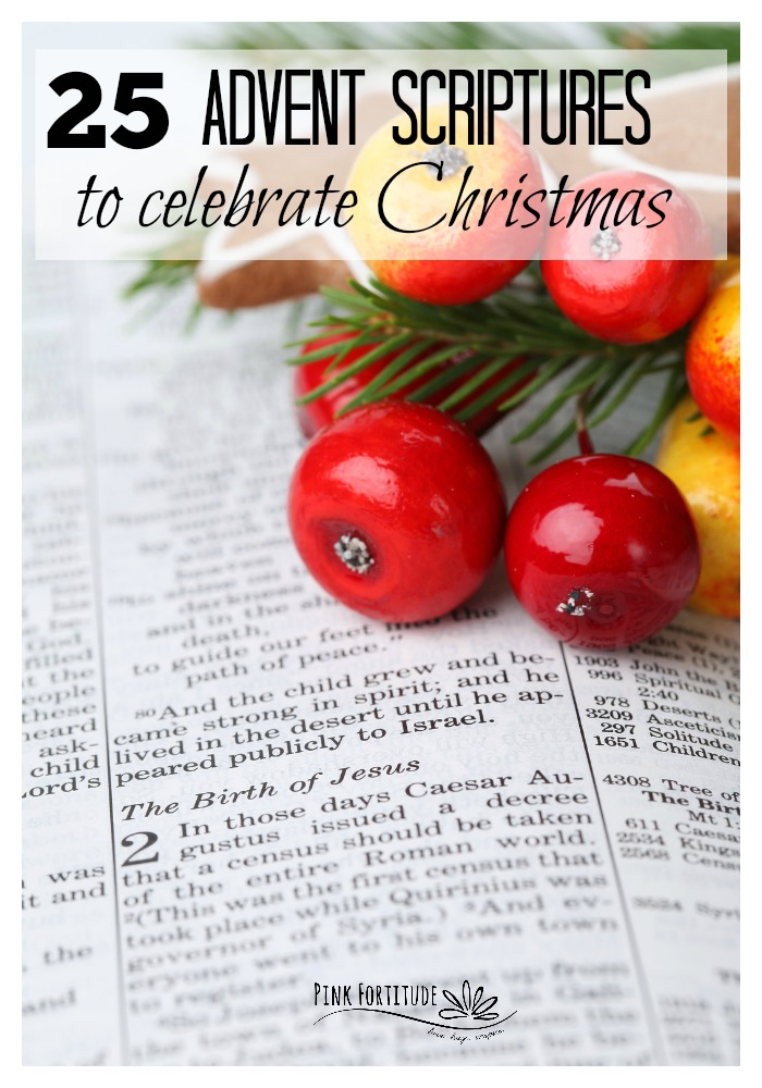 Happy December and Merry Christmas! My beautiful souls, let's turn our faces towards God and celebrate the season by counting down with 25 Advent scriptures. We've curated both Old Testament and New Testament Bible verses that are perfect for the Advent season.