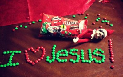 10 Elf on the Shelf Christian Ideas