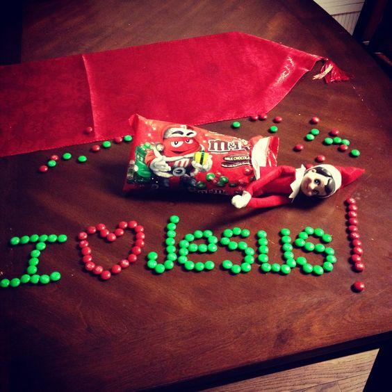 10 Elf on the Shelf Christian Ideas