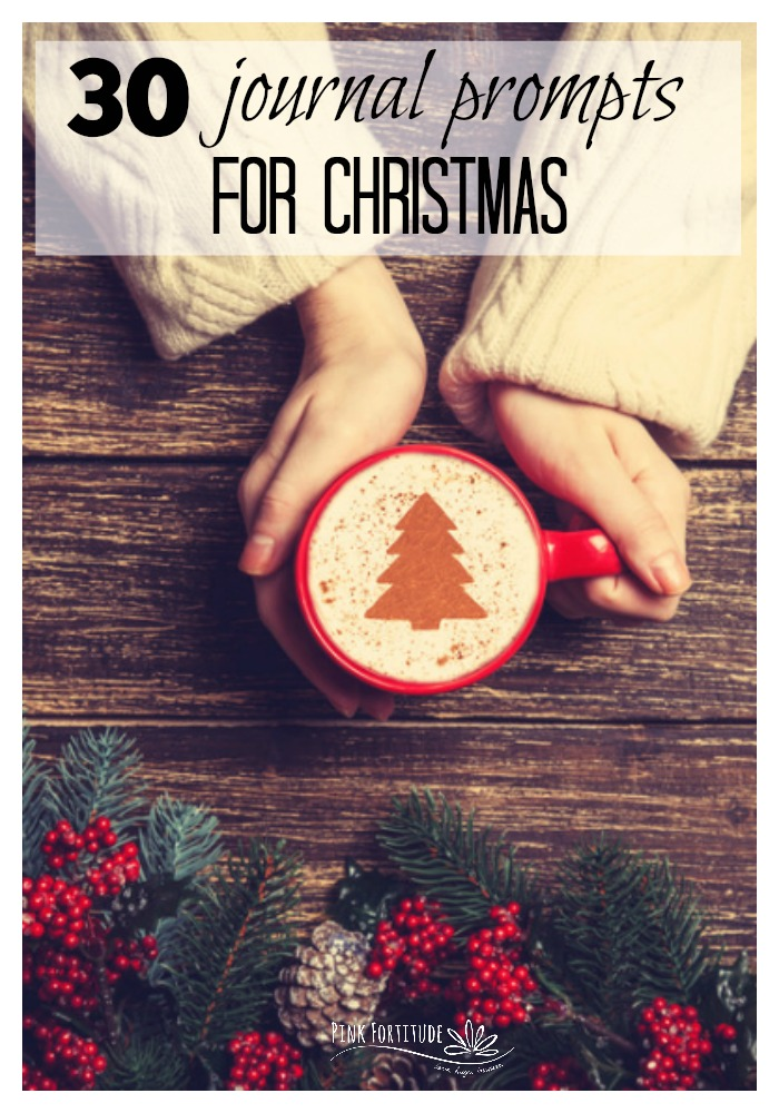 The holiday season is officially here with all of the hustle and bustle and baking and parties and traditions. Be sure to carve out some quiet time for yourself to refresh and renew your spirit. These 30 journal prompts for Christmas and December are sure to get you centered as you enjoy the magic of the season.