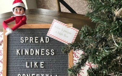 5 Elf on the Shelf Kindness Ideas