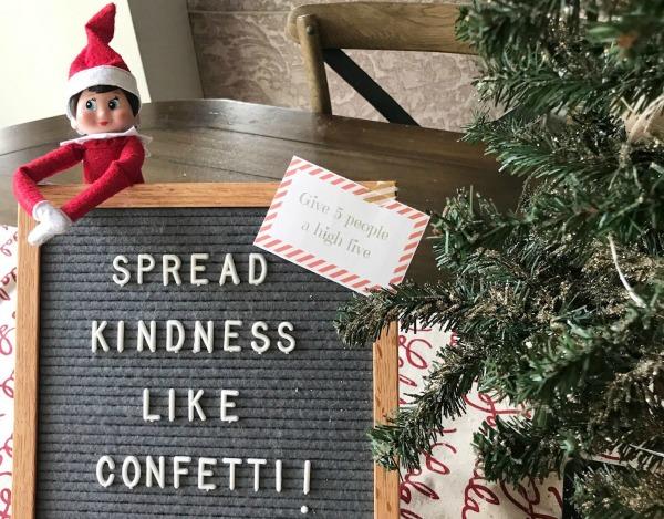 5 Elf on the Shelf Kindness Ideas