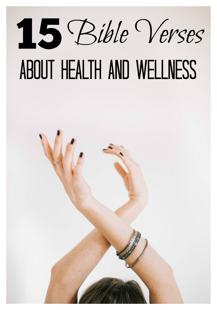 The Bible shows us the way to a healthy life. It is God's will that we take care of our bodies. I've compiled Bible verses from both the Old Testament and New Testament which cover health, wellness, nutrition, and even fitness. While there are plenty more, these are my favorite 15 scriptures about health and wellness. Which one is your favorite?
