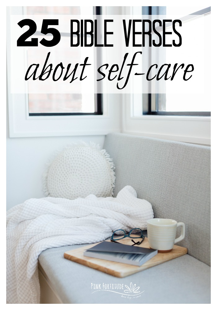 Self-care isn't just a trend. God wants us to love ourselves and take care of ourselves. These Bible verses are shared in both the Old Testament and the New Testament. Here are 25 scriptures about self-care that you can meditate on, and love yourself a little more today.