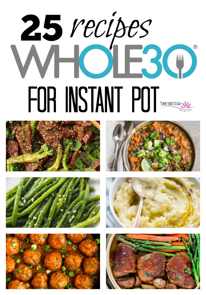 Call it an Instant Pot, Instapot, or even a Pressure Cooker, just don't call it waiting for dinner. These 25 Whole30 Instant Pot recipes will keep you satisfied as you embark on your clean eating journey. They are deliciously made from whole foods and will be on your table pronto with ease!