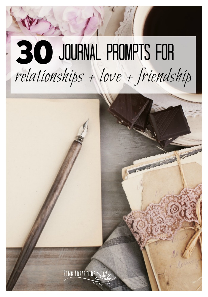 Relationships are the fabric of our being. We all have those around us who we love deeply. And those who we struggle with. These are 30 journal prompts that will help you to explore your relationships, whether it's with a spouse, partner, or friend, and how to love deeper in these relationships. Get out your bullet journal or regular journal and let's start loving more on our loved ones!