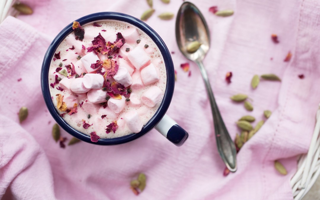 Pink Hot Chocolate – Vegan