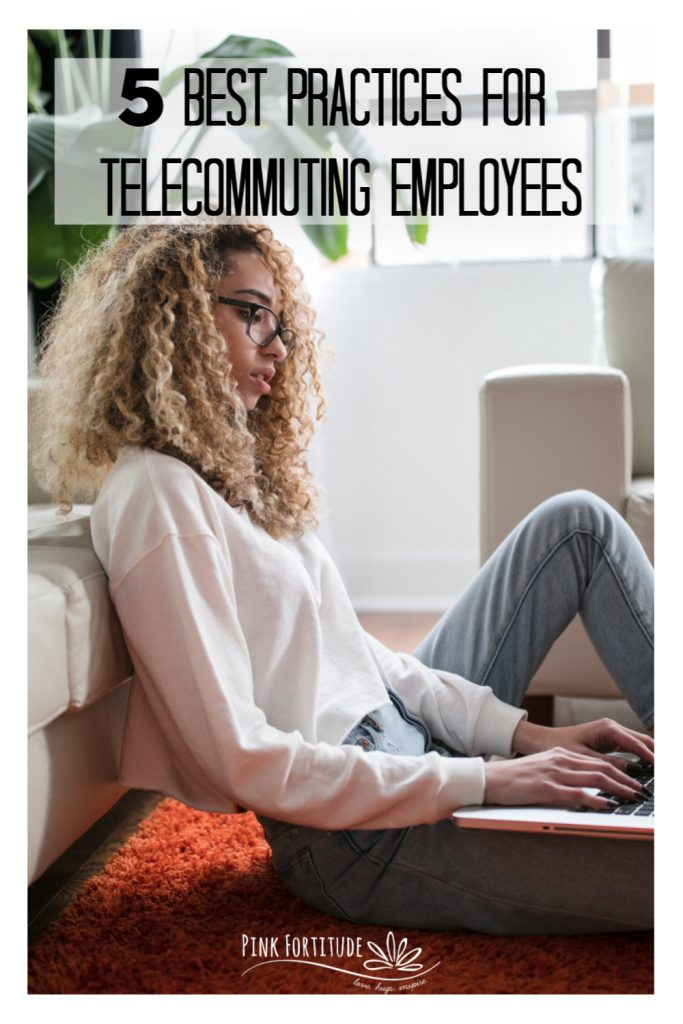 The ability to telecommute is on the rise and getting more popular each year. Working from home is a great alternative, but it does have it's share of challenges. Here are 5 best practices for telecommuting employees to help you balance being productive and working from home.