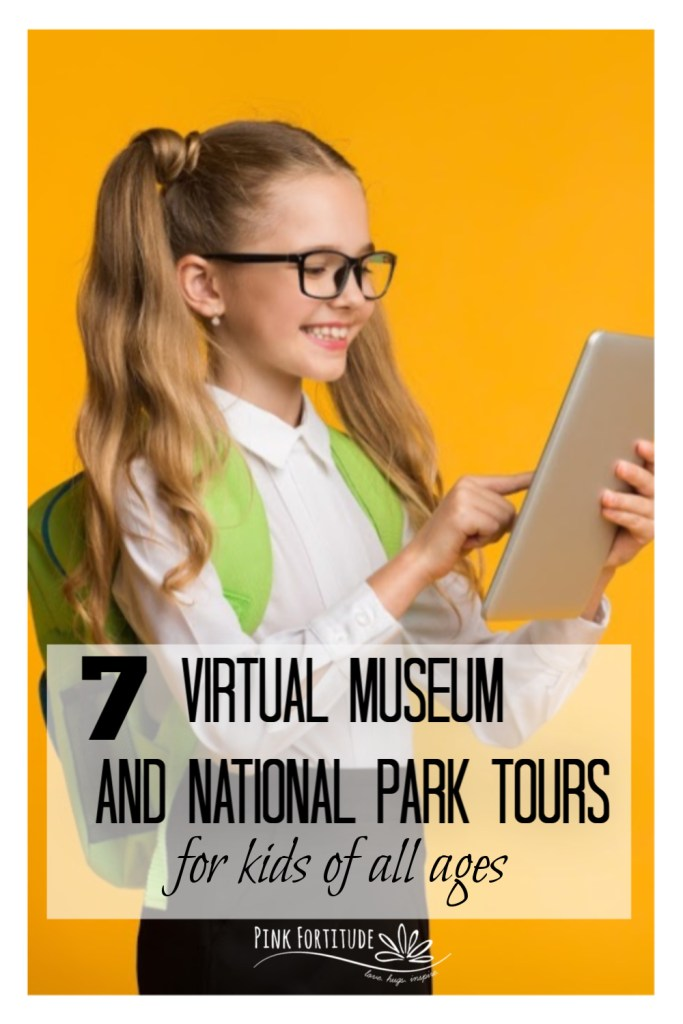Sometimes, as much as you want to visit a place in person, it's just not feasible. Thank goodness for technology - so many of our great museums and National Parks have online resources these days. These 7 virtual museum and national park tours are great for kids of all ages! PS - they are my personal favorites!