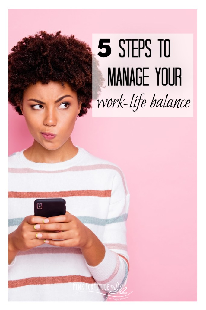 Managing your work-life balance is difficult enough. Add a chronic illness to the mix and it gets even more difficult. Scratch that. It gets IMPOSSIBLE. It's not a perfect science, but it is possible to regain control. Here are 5 steps to manage your work-life balance.