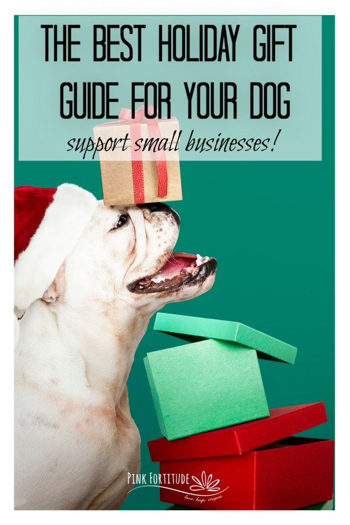 Our dogs are our best friends and I know you want to include them in your holiday gift-giving, whether you are a pet parent and want a beautiful and unique gift for your dog or a friend or family member who wants to include the fur babies with treats under the tree. In this holiday gift guide for your dog, I've curated some of the best small businesses to shop in the United States and Made in America that are hidden gems.
