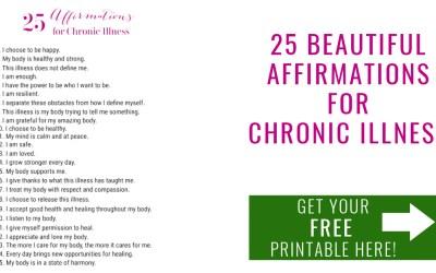 25 Affirmations for Chronic Illness