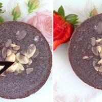עוגת בראוניז אישית טבעונית (ללא אפייה)