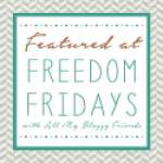 Freedom Fridays Gray Chevron featured
