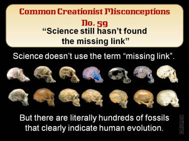 Science still hasn't found the missing link.