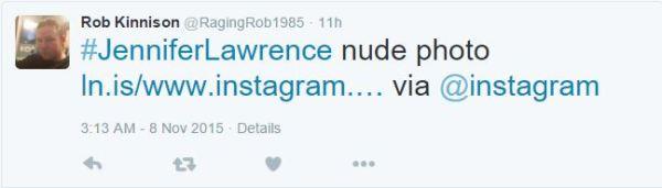 RagingRob1985 Nude tweet