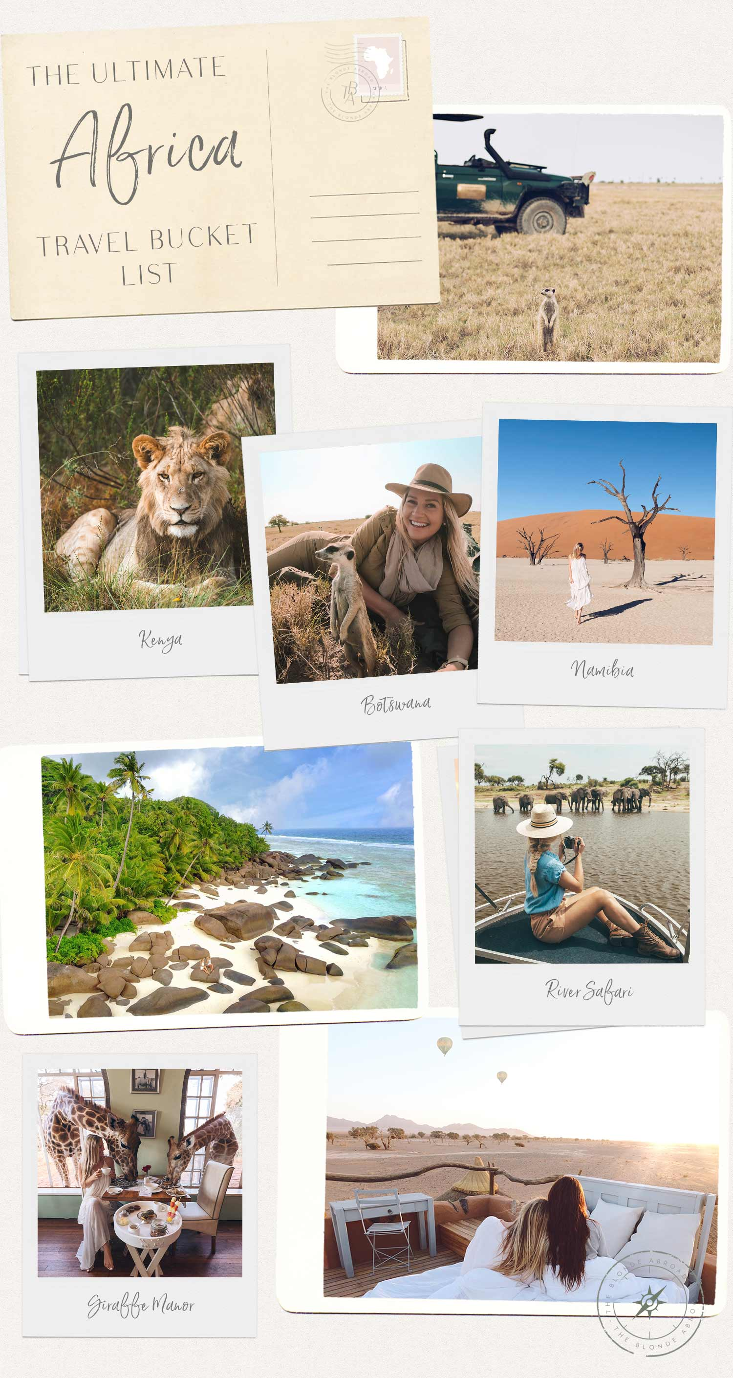The Ultimate Africa Travel Bucket List - Pink Is The New Blog