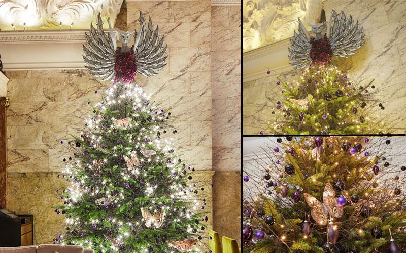 Lima Hotel dengan Pohon Natal Terbaik
