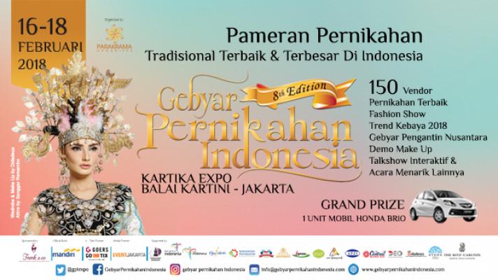Gebyar Pernikahan Indonesia 2018
