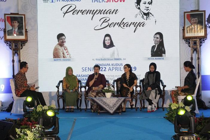 Nojorono Gelar Talkshow 'Perempuan Berkarya'