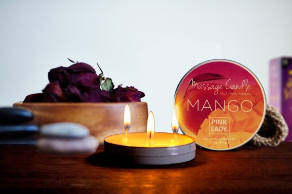 Velas para Masajes – Fragancia Mango