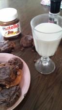 Mjölk och kakor
