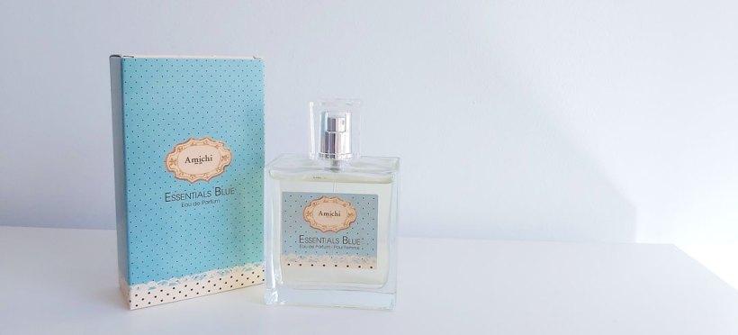 Packaging perfume Amichi Essentials