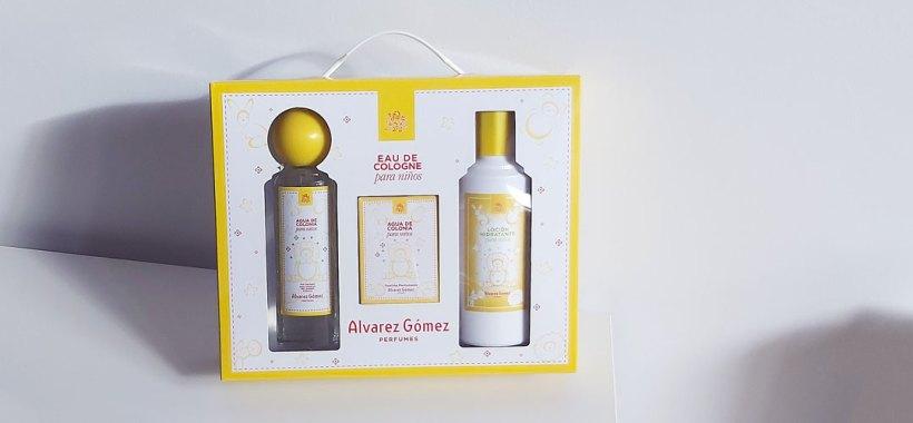 Packaging colonia infantil Alvarez Gómez