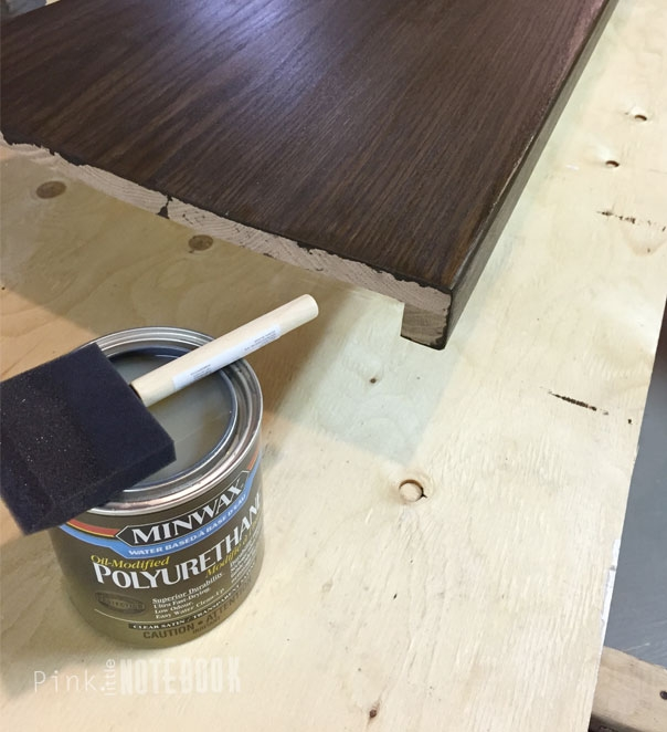 Staining Oak Stair Treads Pink Little Notebookpink Little Notebook | Prefab Oak Stair Treads | Hardwood Flooring | Wood Flooring | Wood Stair | Solid Oak | Risers