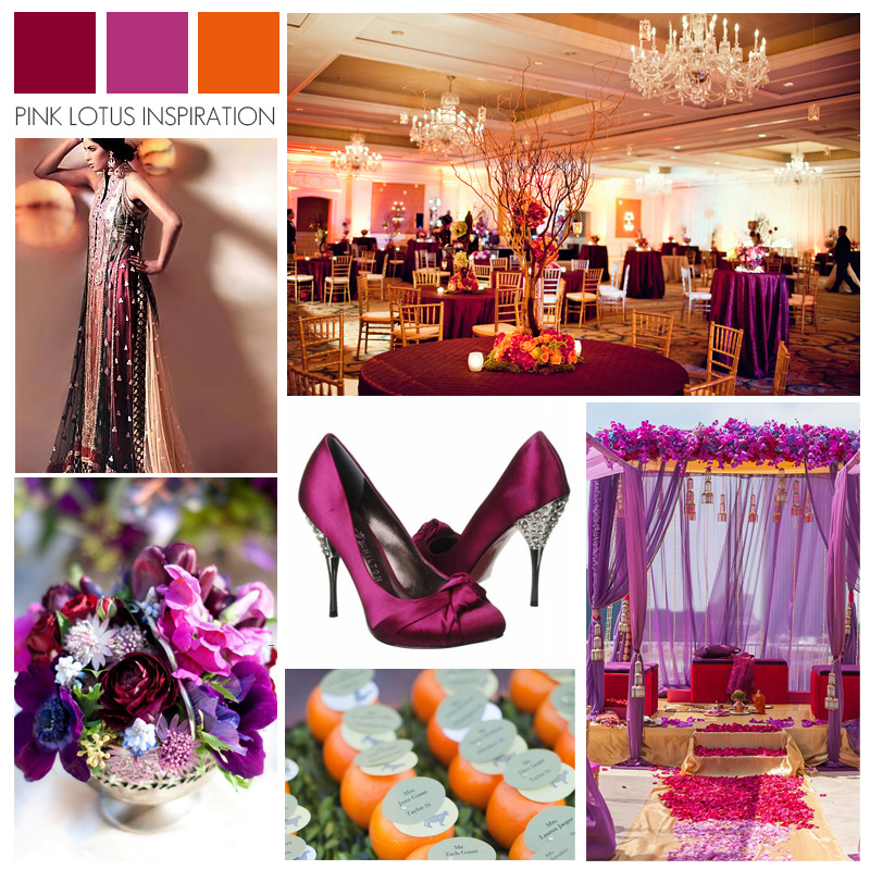 Magenta PINK LOTUS EVENTS