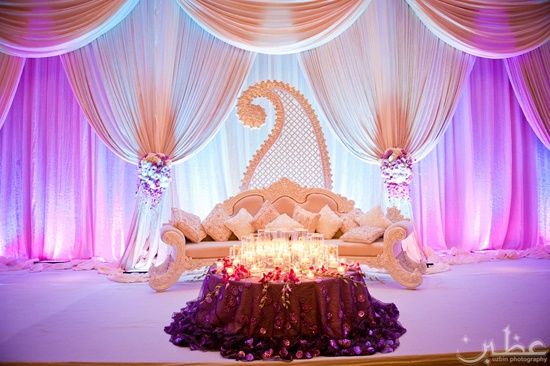 GLAMOROUS WEDDING BACKDROPS PINK LOTUS EVENTS