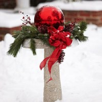 50 Best Outdoor Christmas Decorating Ideas 2016 - Pink Lover