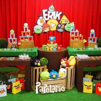DIY Angry Birds Birthday Party Ideas - Pink Lover